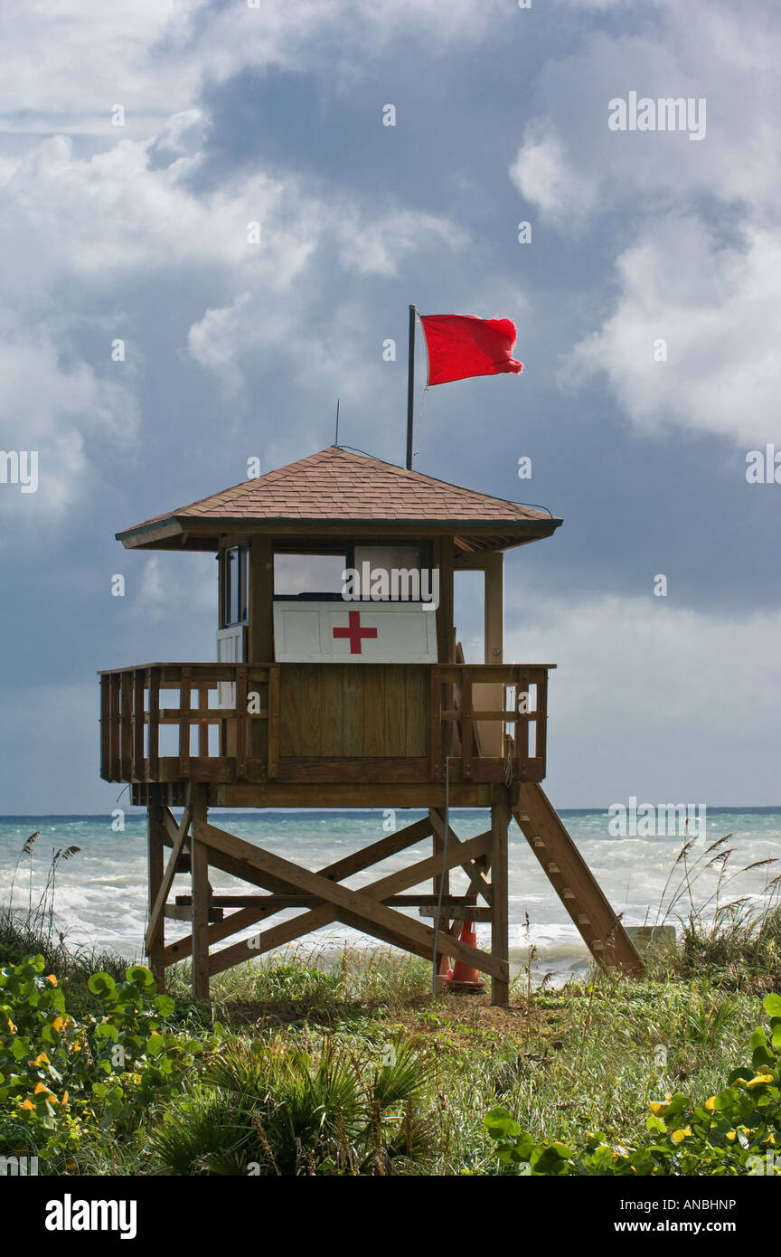 Lifeguard Stand Tower Lookout Post Swimming Safety Rescue
