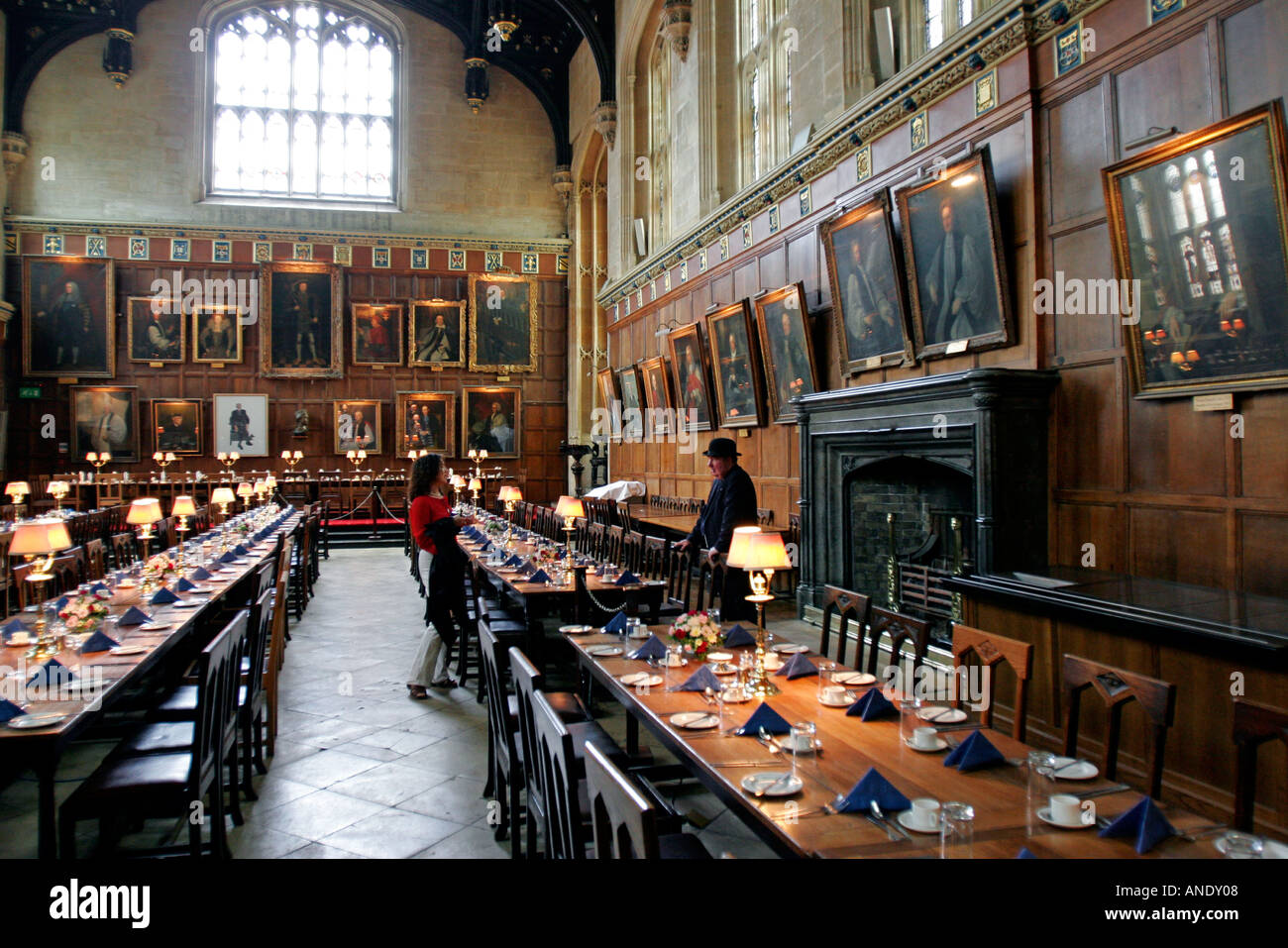 United Kingdom Oxfordshire Oxford University The Dining Room At