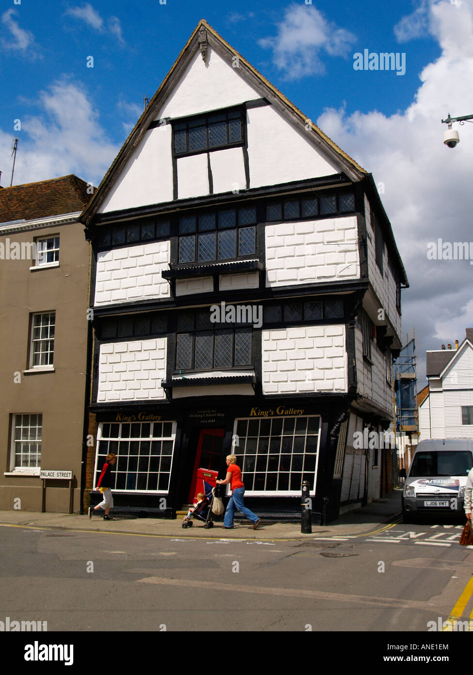 The crooked house or the old king 39 s school shop in for King s fish house