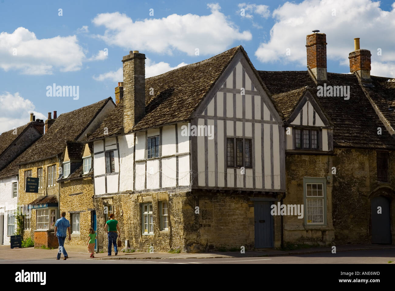 tudor style timber frame houses in laycock wiltshire united stock photo tudor style timber frame houses in laycock wiltshire united kingdom