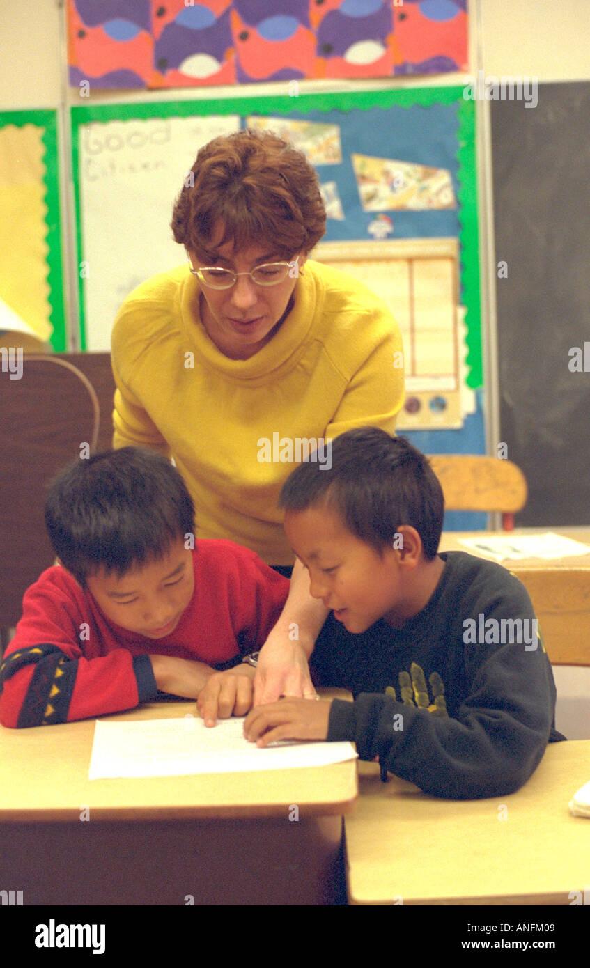 Teaching asian american students