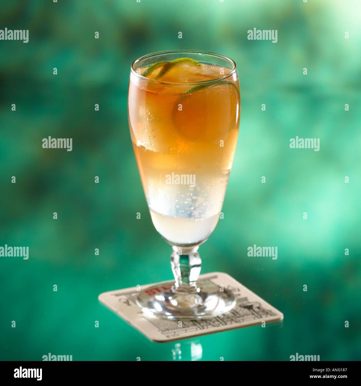 Ginger Lemonade Alcoholic Drink