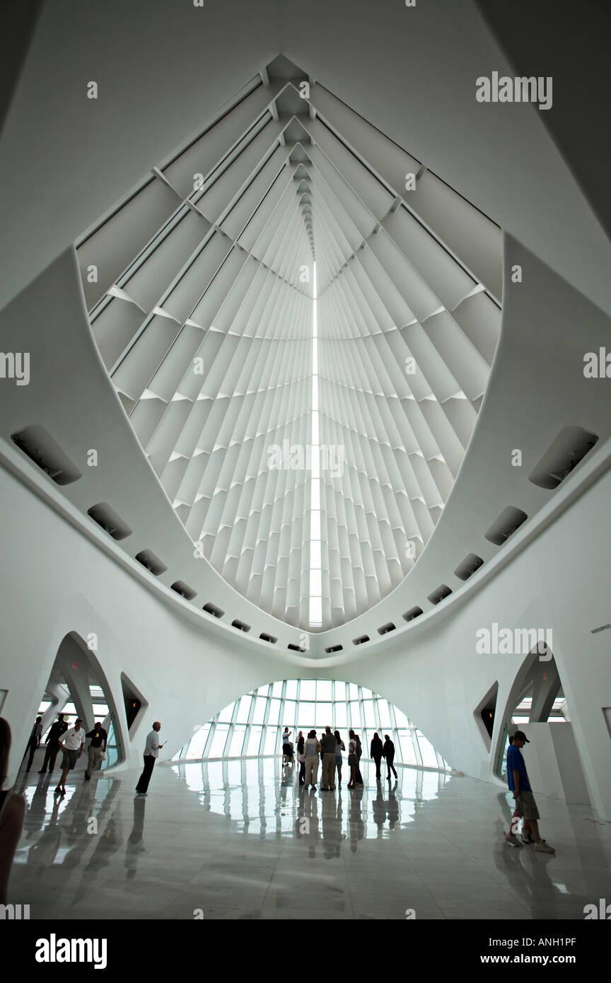 Wisconsin Milwaukee Art Museum Designed By Santiago