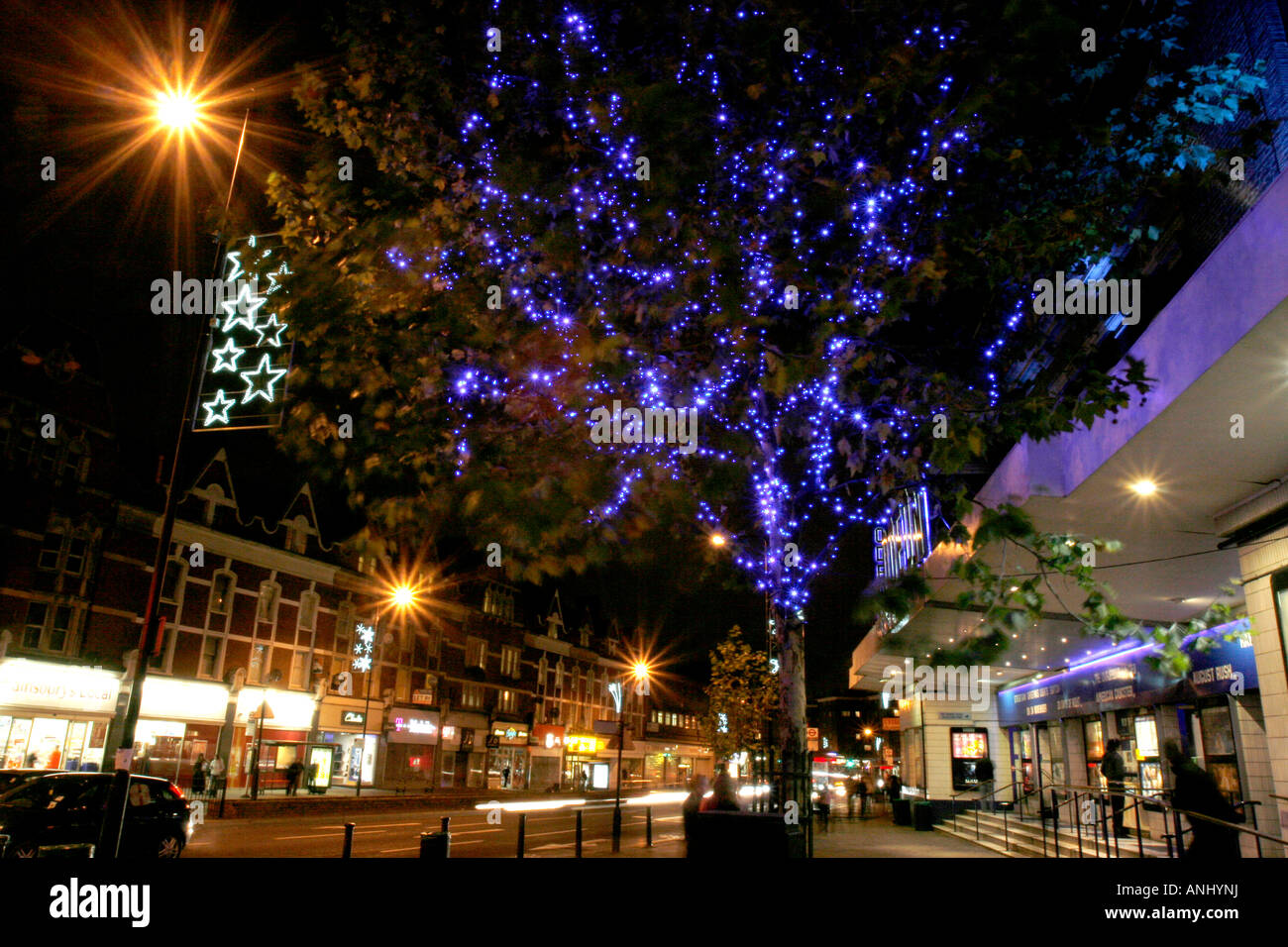 Christmas Lights Streatham High Street