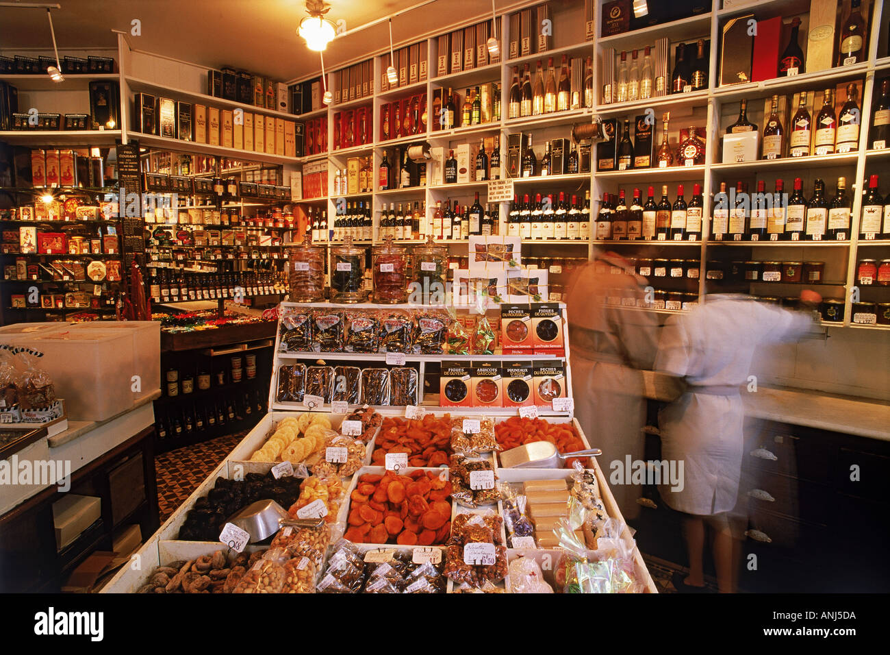 inside small epicerie or delicatessen in paris stock photo royalty free image 2876889 alamy. Black Bedroom Furniture Sets. Home Design Ideas
