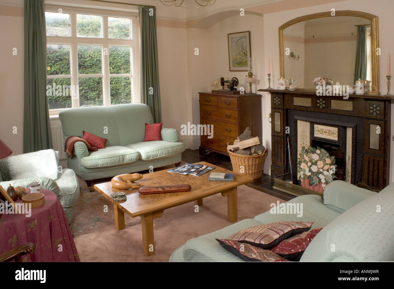 Cosy Traditional Sitting Room Interior