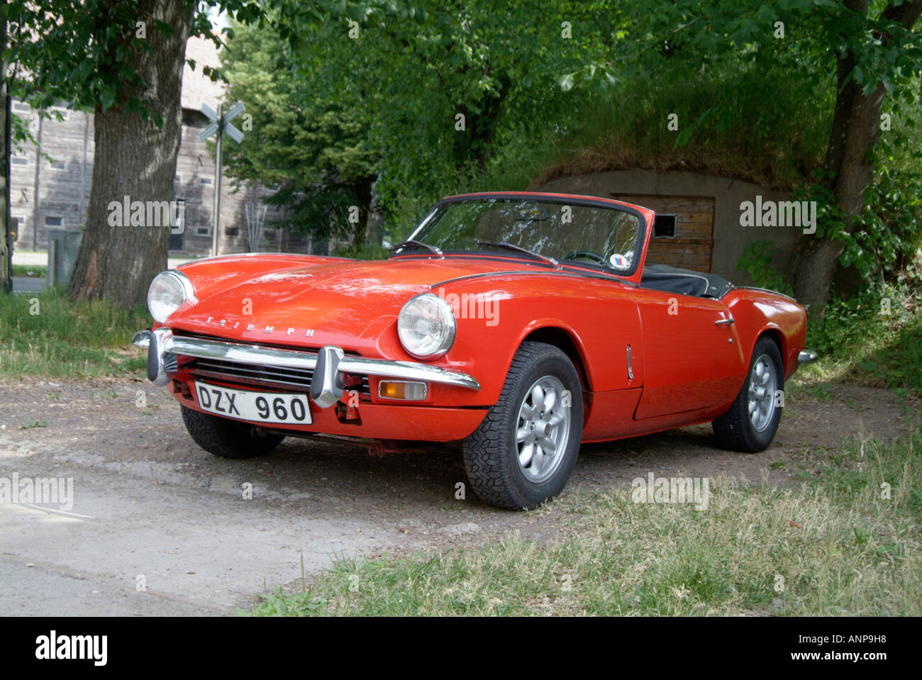 Triumph Spitfire English Sportscar Sports Car Convertible - Two seater sports cars