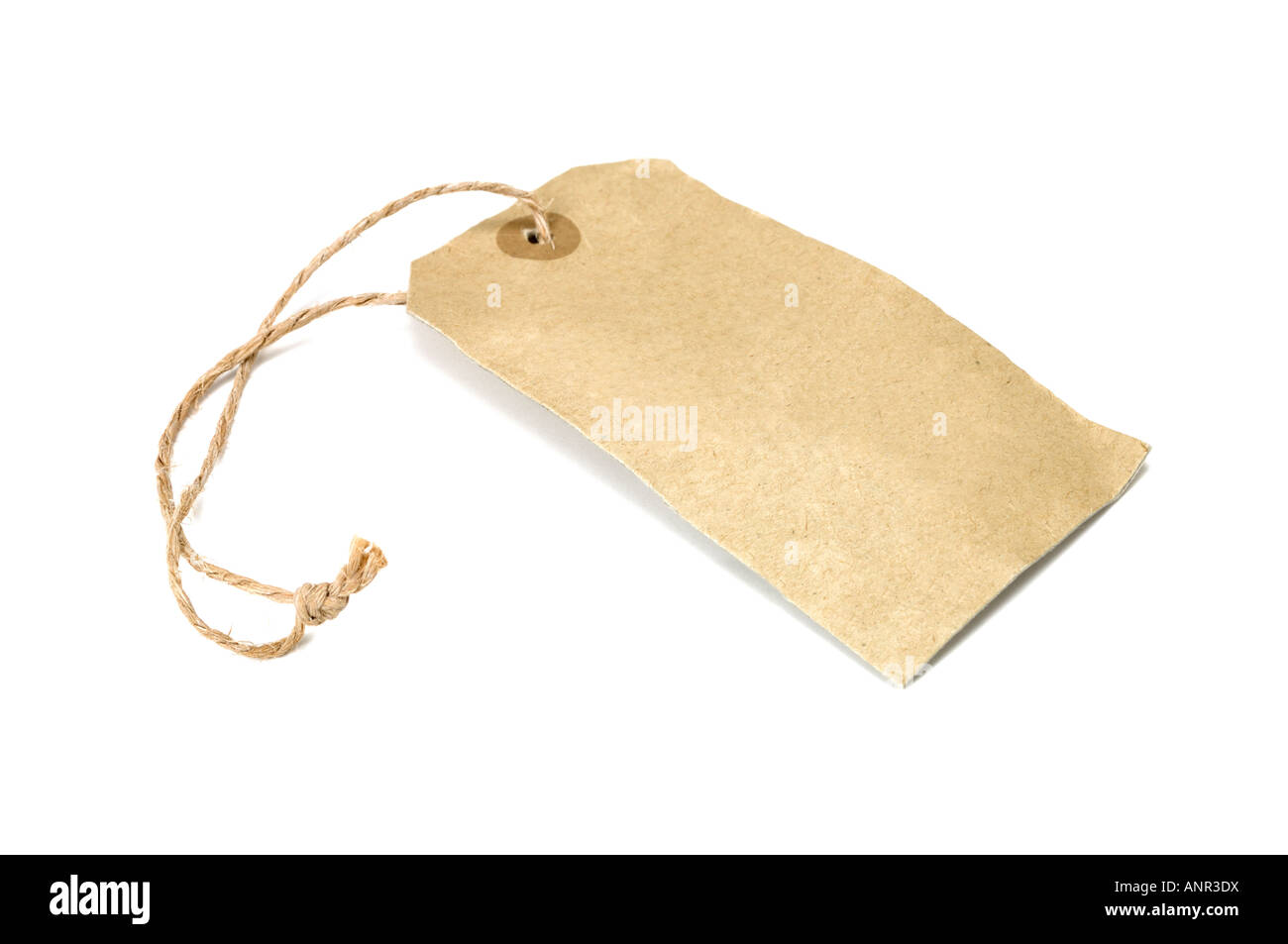 Handmade Paper Label Tag Coir Thread Stock Photo, Royalty Free ...