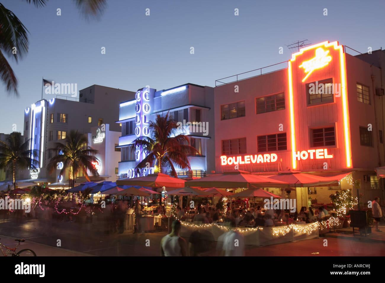 The Colony Hotel Miami Beach Fl