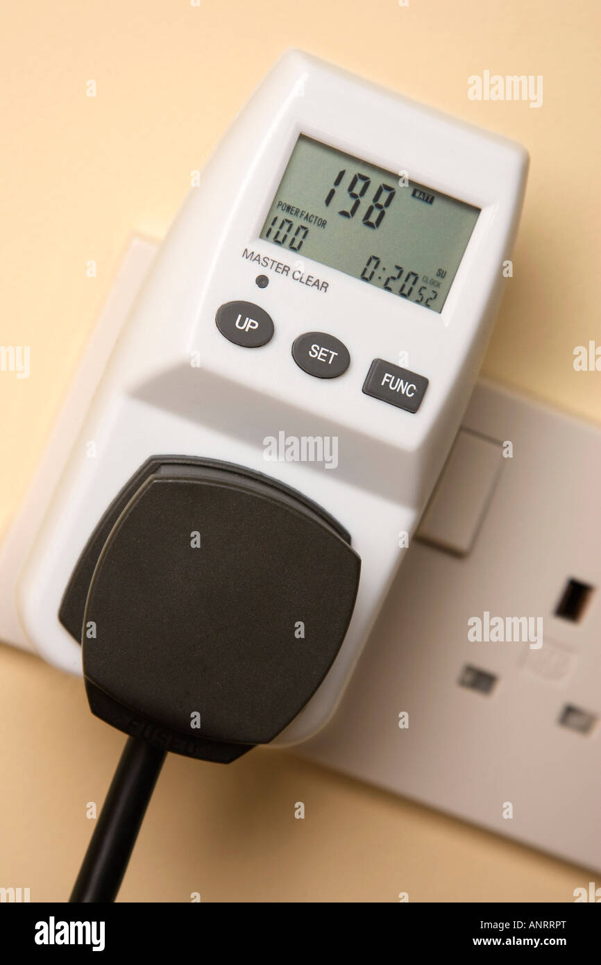 Electronic Measuring Devices : Electronic device for measuring how much electricity