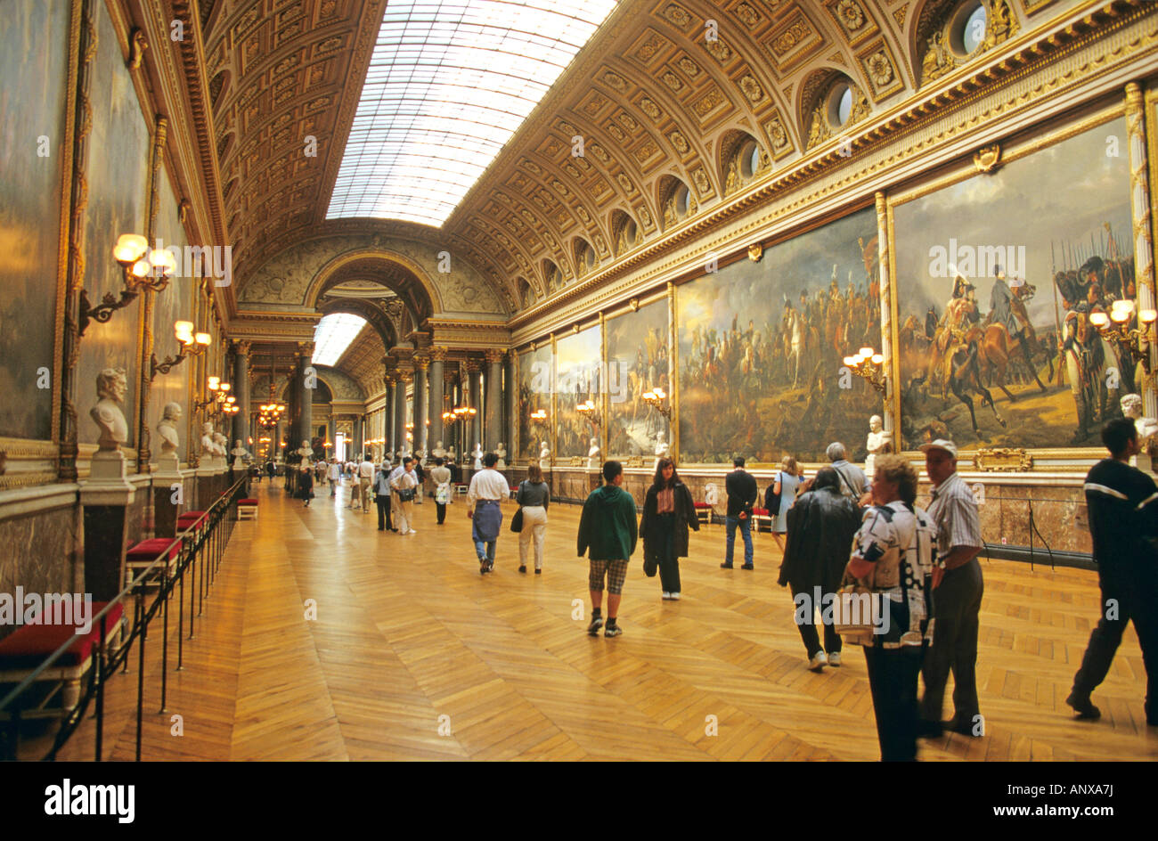 Versailles galerie des batailles palace of versailles for Architecte des batiments de france versailles