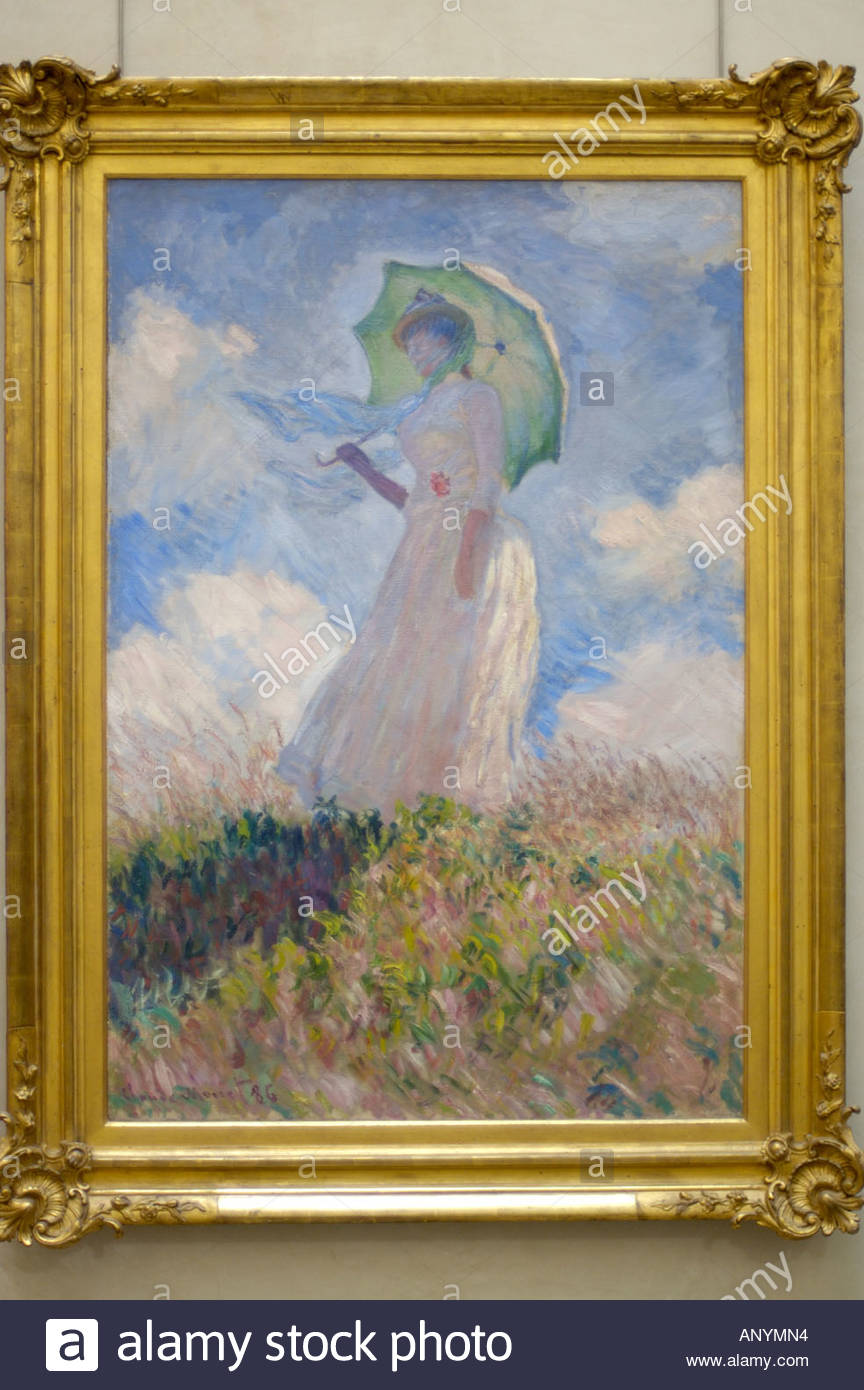 Claude Monet's 'Study of a Figure Outdoors: Woman with a ...