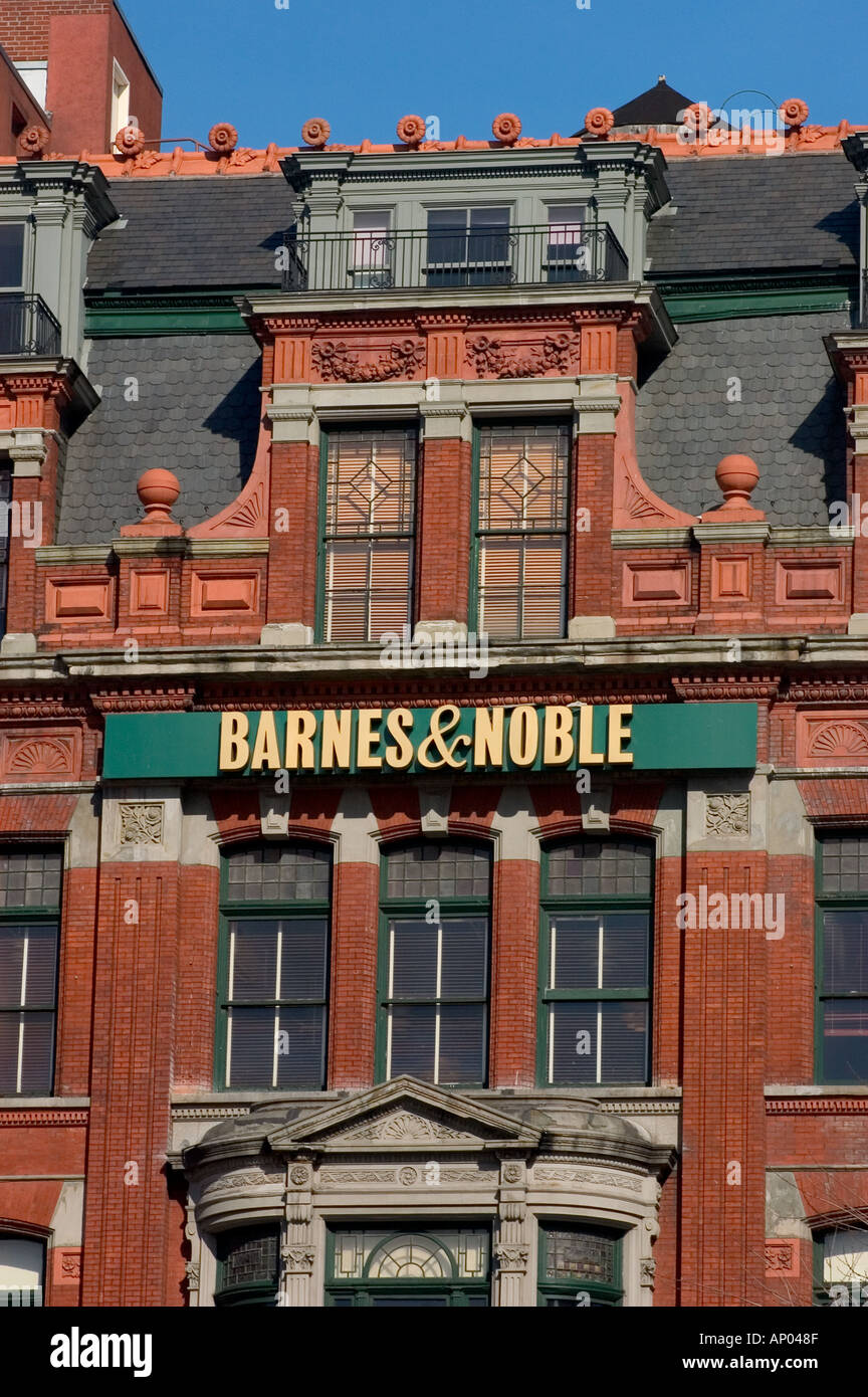 Barnes Noble Book Store In Six Story Red Brick Building In