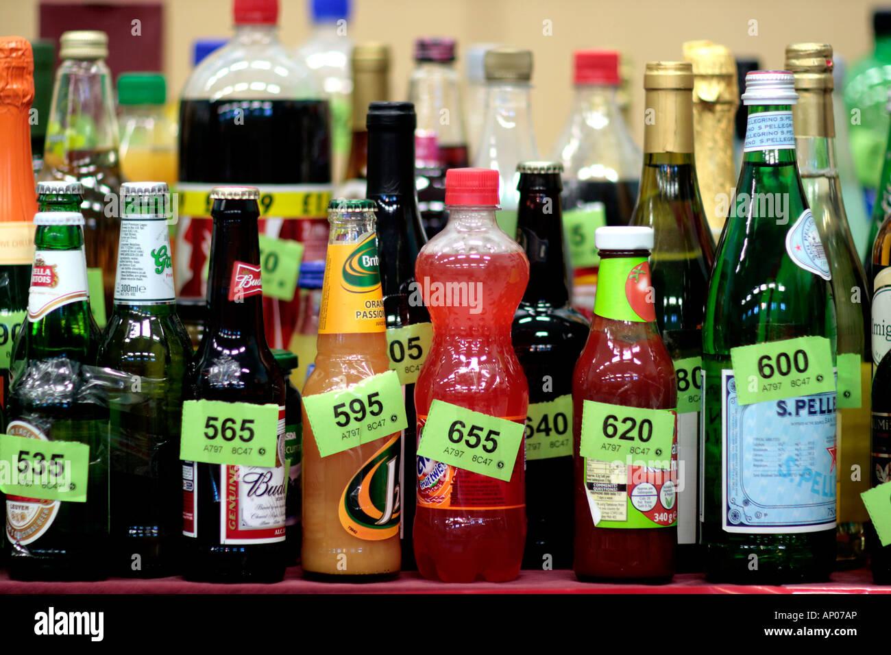 A Bottle Tombola Stock Photo Royalty Free Image 15632301
