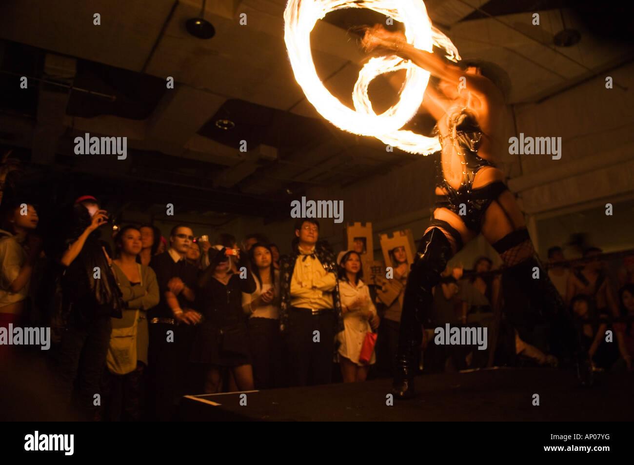 International Halloween Party at Arena nightclub Beijing China ...