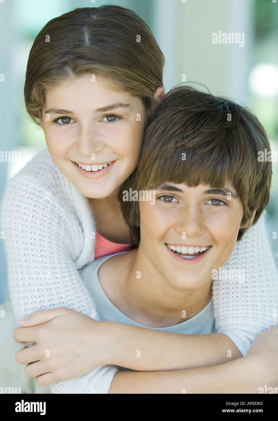 pimpandhost ru onion @ $ pimpandhost ru onion @ $librechan girls preteen couples Girl hugging  preteen boy from behind,