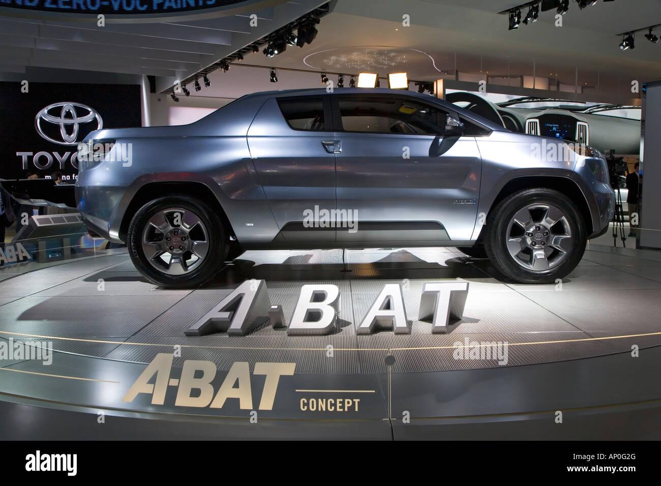 toyota a bat hybrid concept pickup truck stock photo royalty free image 15635223 alamy. Black Bedroom Furniture Sets. Home Design Ideas