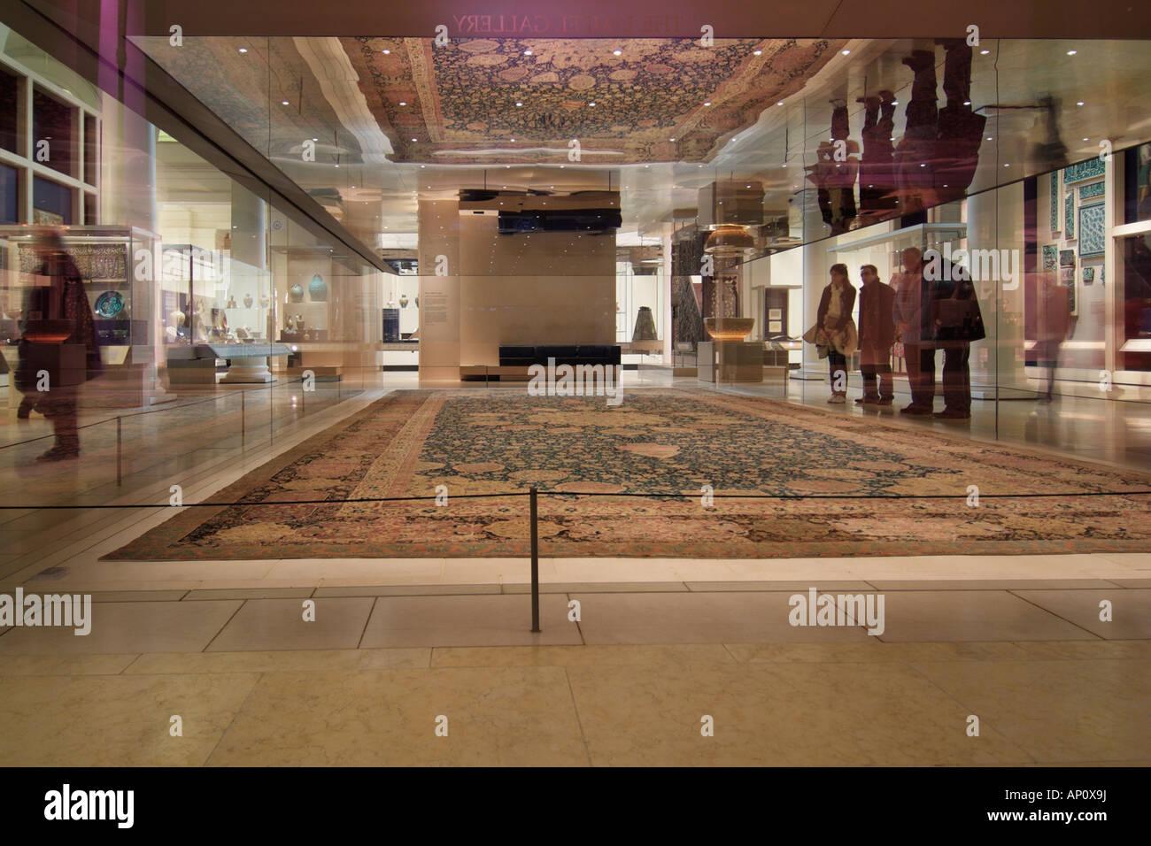 ardabil carpet 1540 British museum London Iran Iranian ...