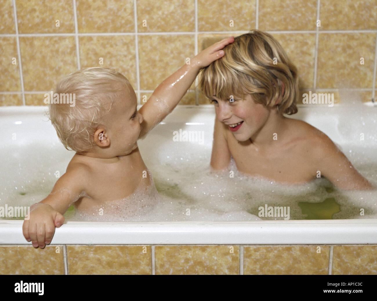 Naked Girls Bathing Together