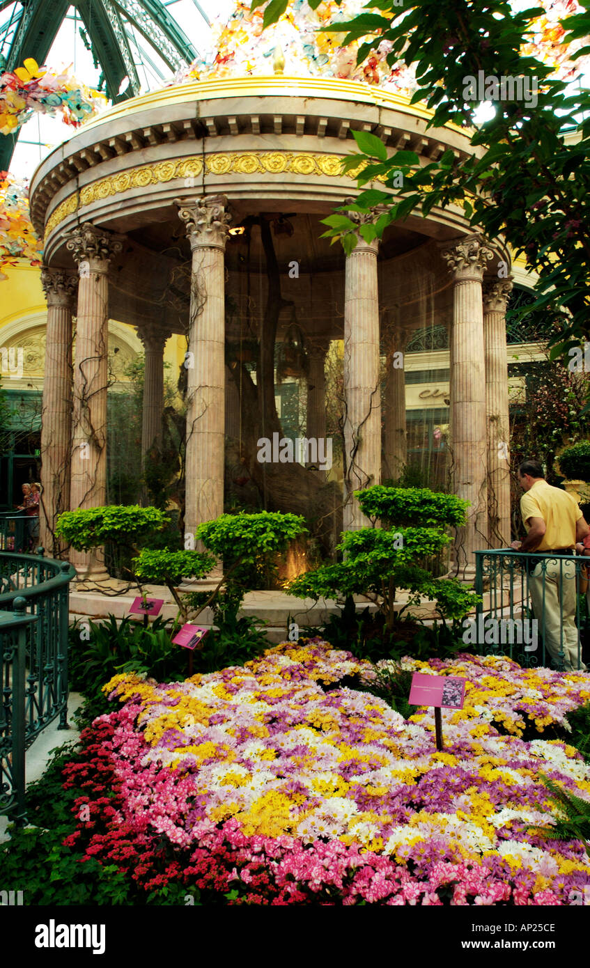 Conservatory And Botanical Gardens Inside Bellagio Hotel Las Vegas