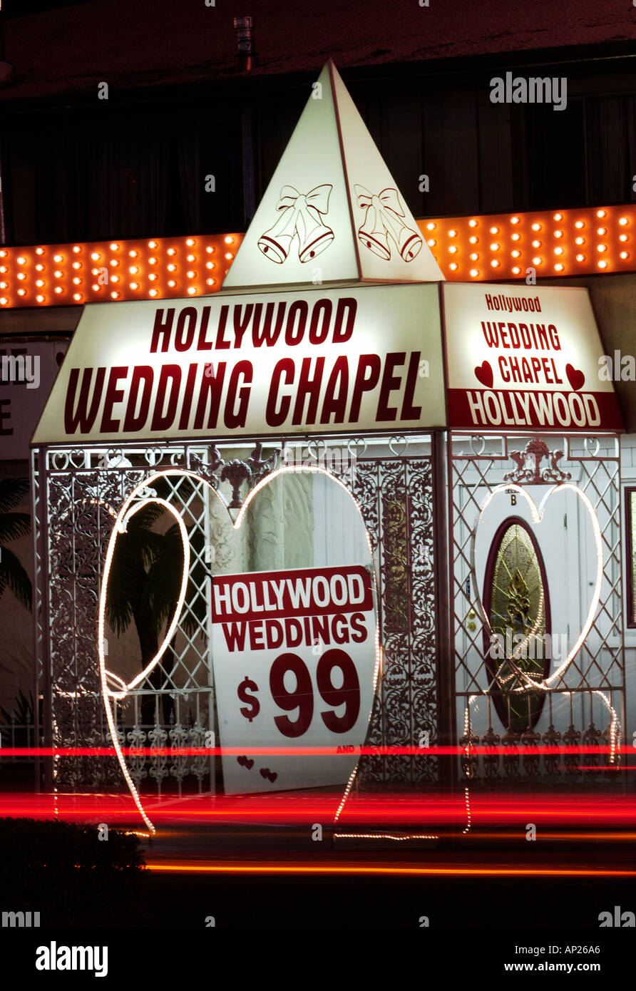 Hollywood Wedding Chapel Las Vegas Strip