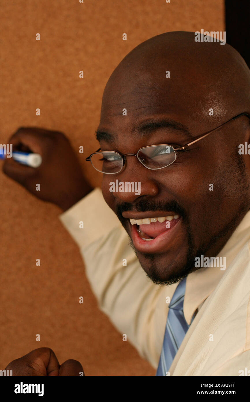instructor good job dry erase board business african american instructor approval congradualtions good job well done praise happy dry erase board business african american company