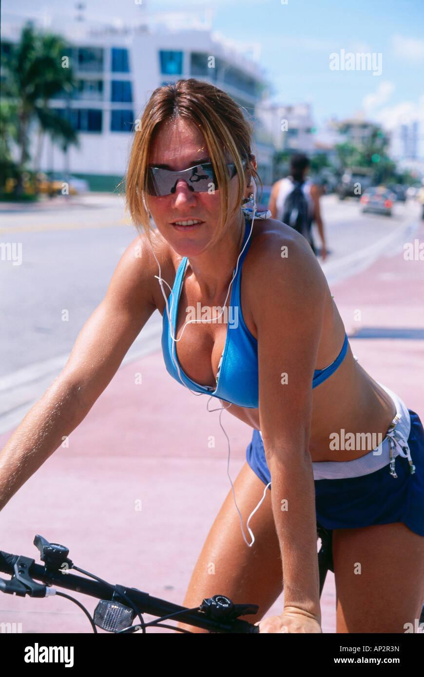 Biking In Miami South Beach