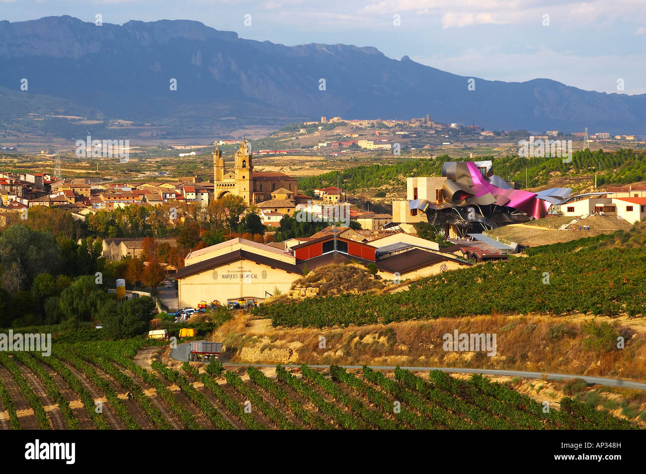 Hotel from architect frank gehry and bodegas marqu s de riscal stock photo royalty free image - Arquitecto bodegas marques de riscal ...