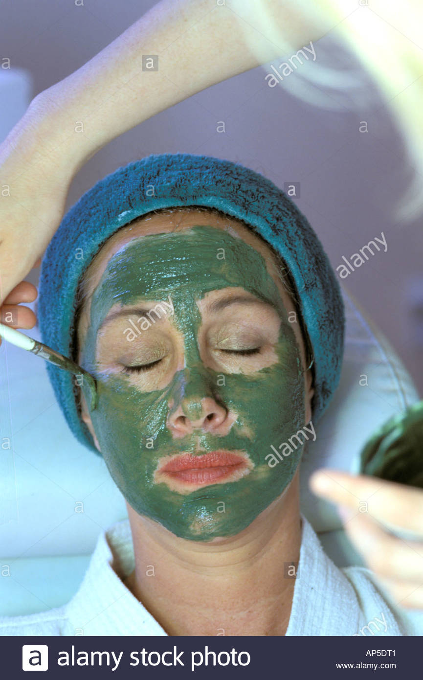 California spa facial