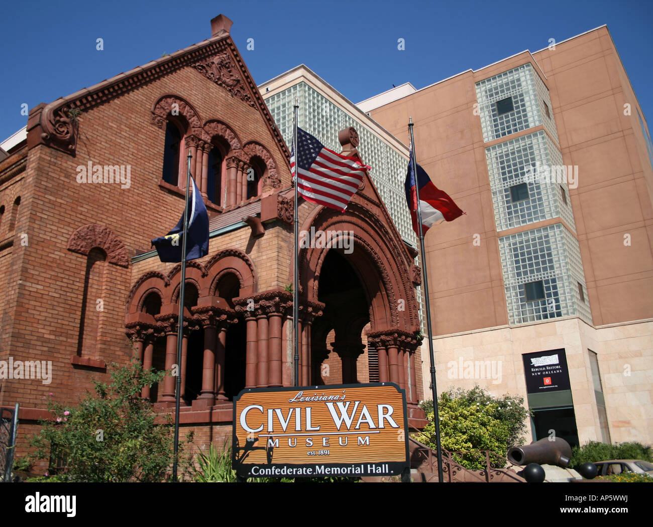 Louisianas Civil War Museum Confederate Memorial Hall And Ogden - War museums in usa