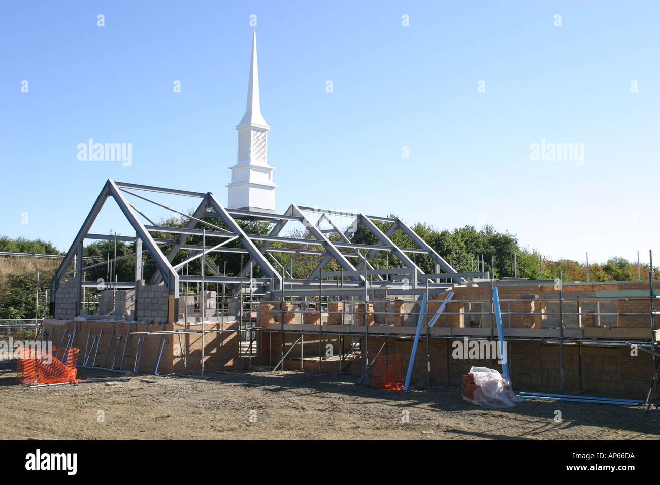 Church Of Latter Day Saints New Building Under