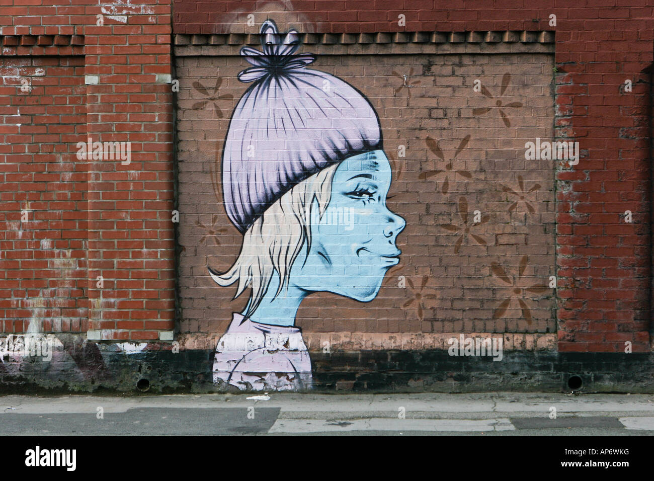 Graffiti wall cambridge - Graffiti On Wall In Cambridge Street Manchester Uk