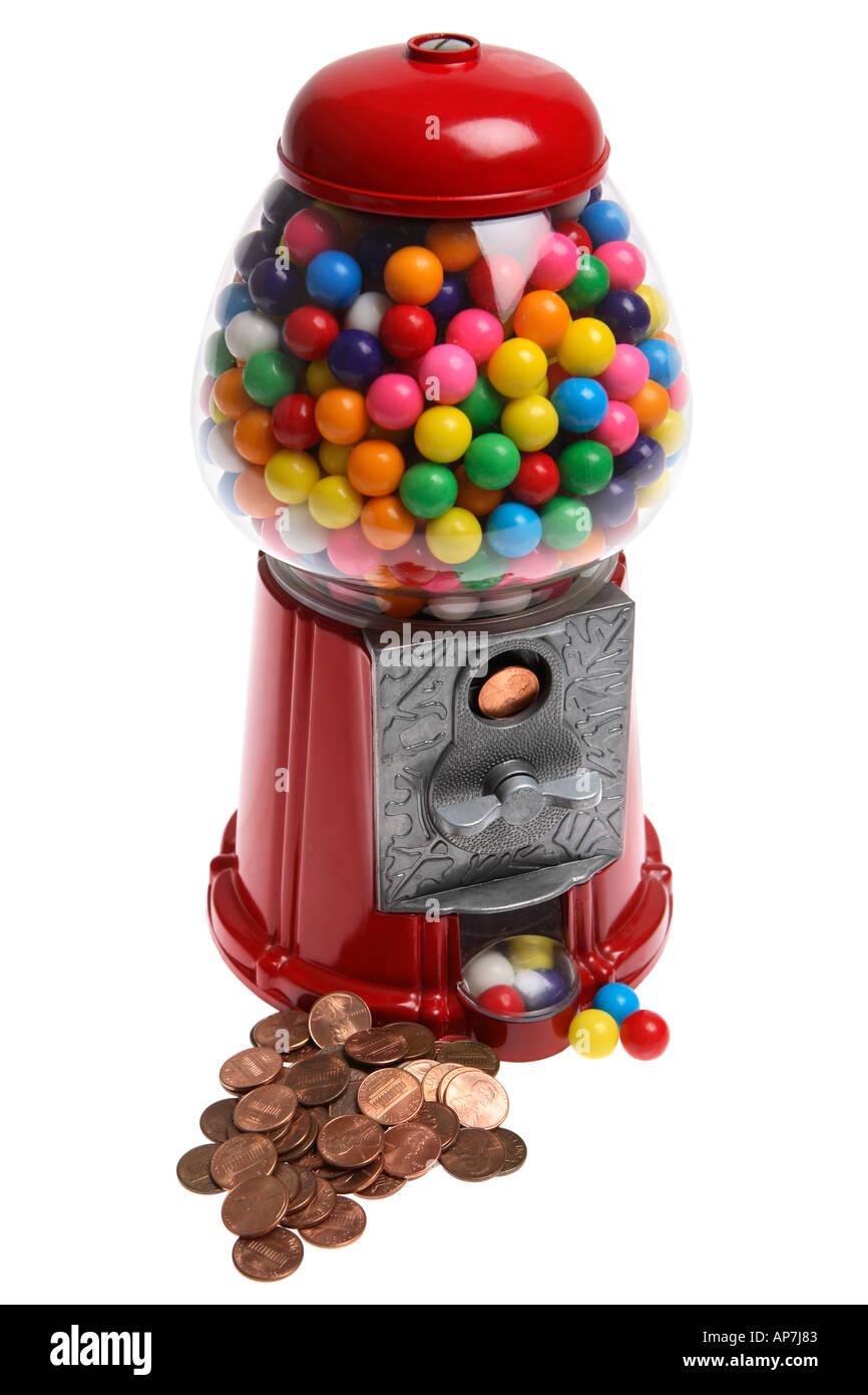 Old fashioned bubble gum machine 89