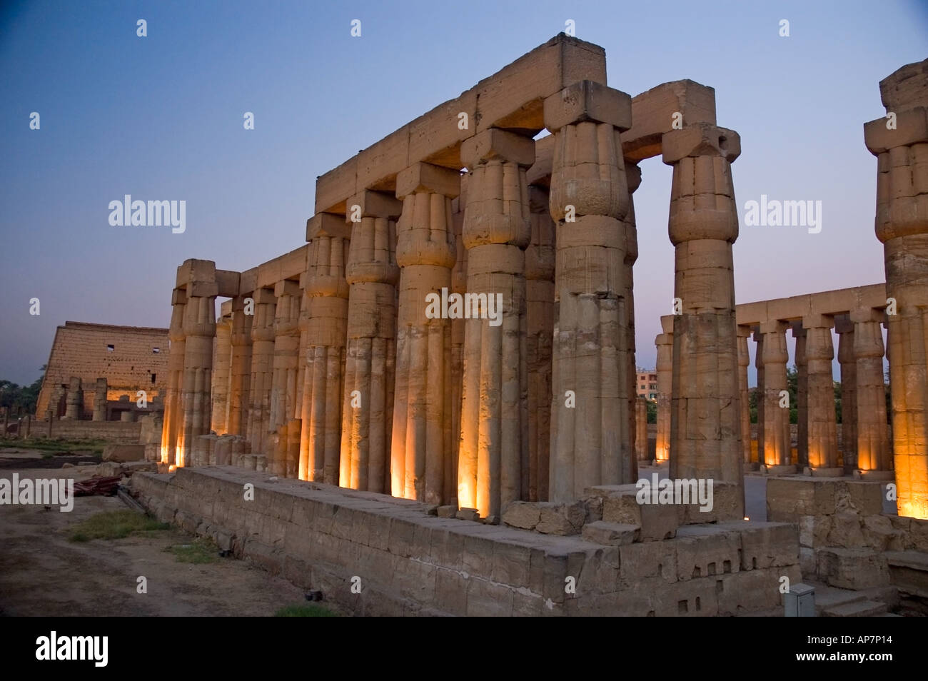 Dramatic lighting at Luxor Temple Thebes Upper Egypt Middle East. DSC4619 & Dramatic lighting at Luxor Temple Thebes Upper Egypt Middle ... azcodes.com