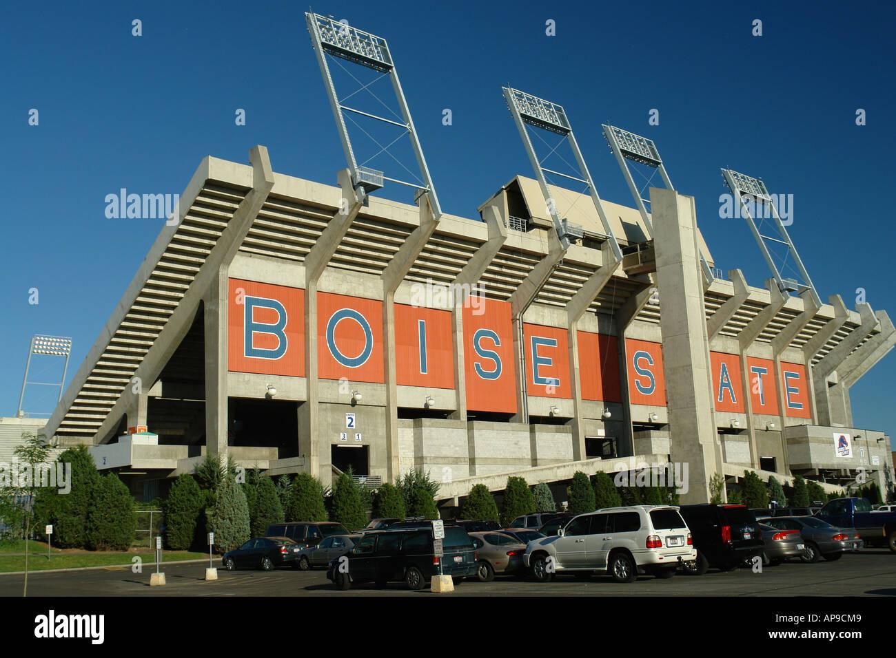 Ajd50867 Boise Id Idaho Boise State University Bronco Stadium Stock Photo 8982088 Alamy