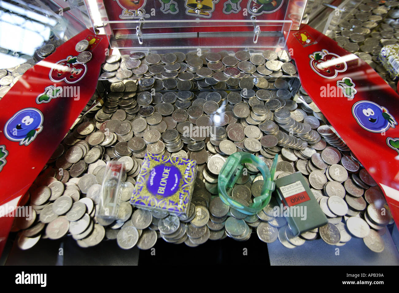 Gambling coin games charged with illegal gambling