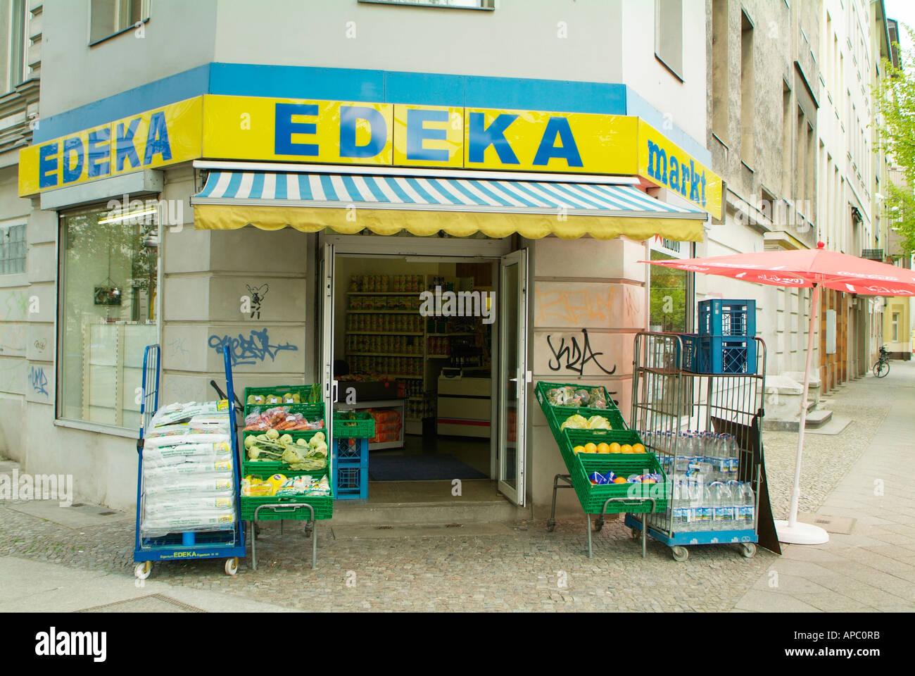 edeka shop in kreuzberg berlin germany stock photo royalty free image 8995962 alamy. Black Bedroom Furniture Sets. Home Design Ideas