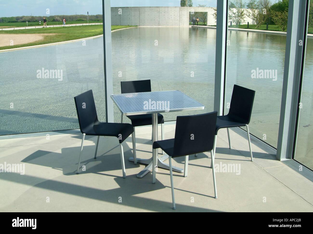 tadao ando furniture. museum langen foundation architect tadao ando neuss germany furniture 4
