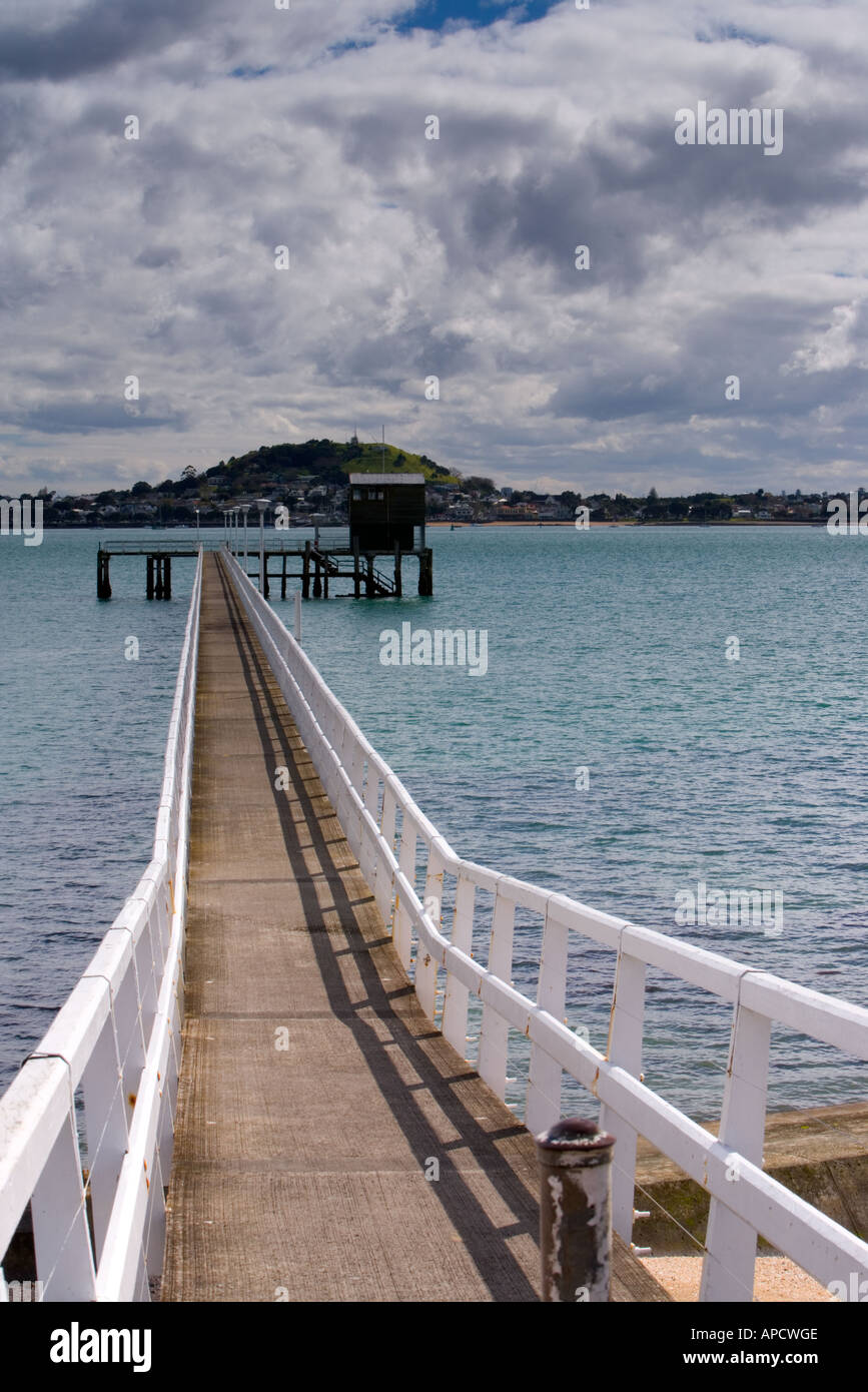 Orakei wharf mission bay auckland new zealand stock photo - Mission bay swimming pool auckland ...
