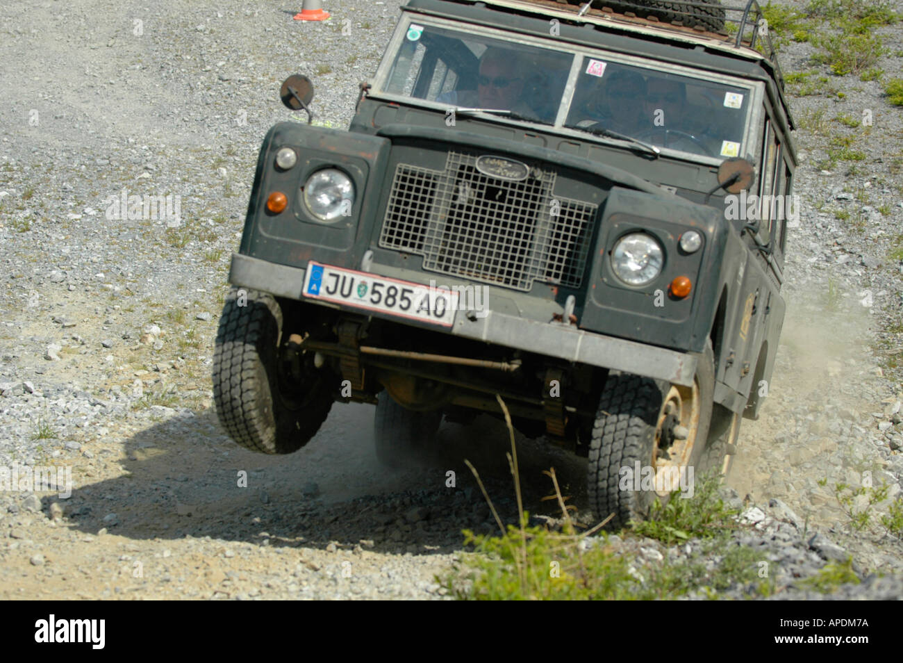 Land Rover Series 2a 109 Station Wagon Lwb Green With