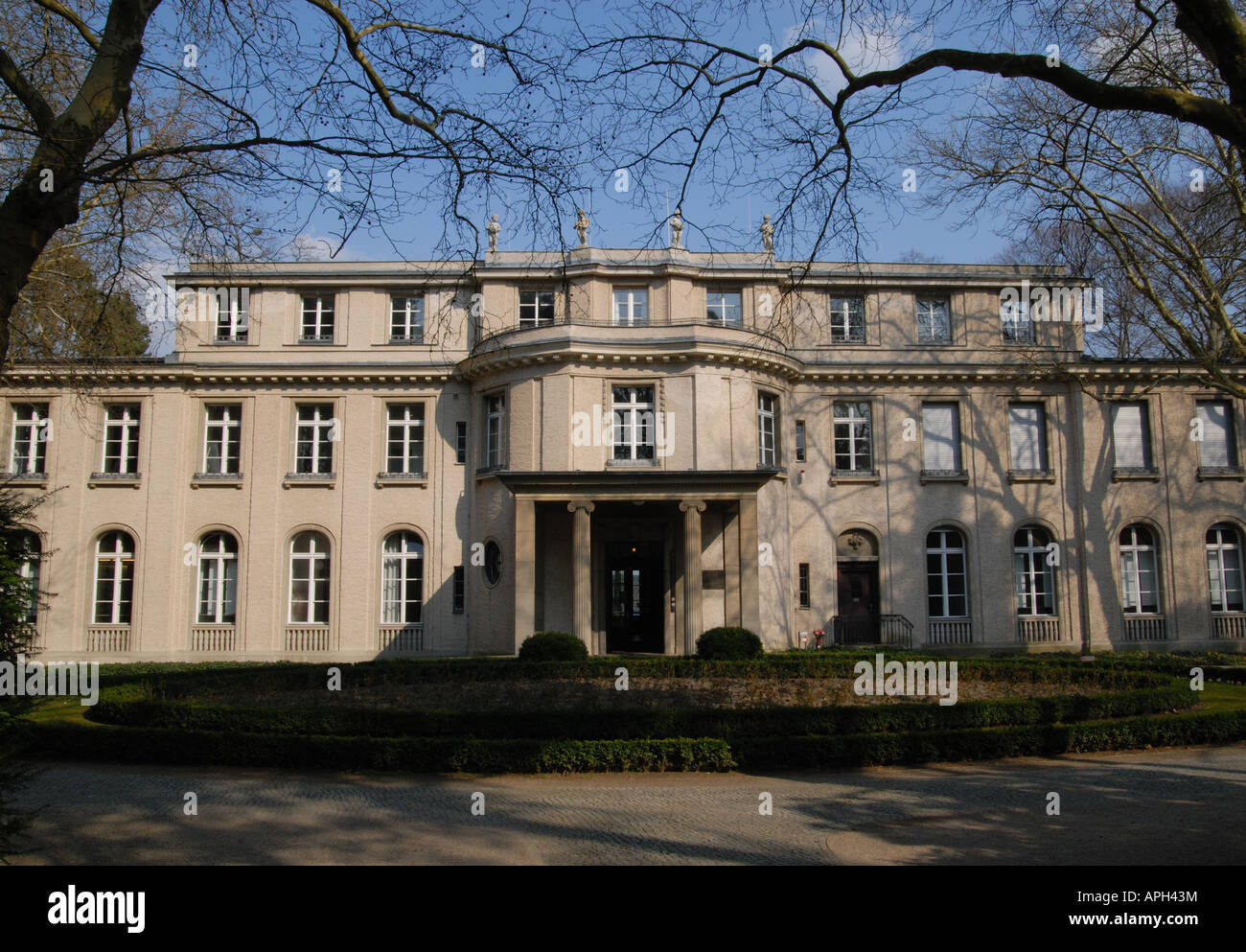 Wannsee conference villa where final solution the genocide of europes jews was