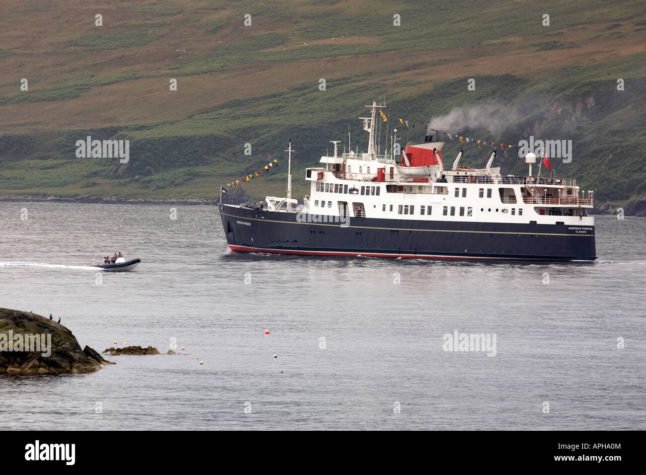 The Hebridean Princess Cruise Ship Of The Coast Of Islay On The - West coast cruises