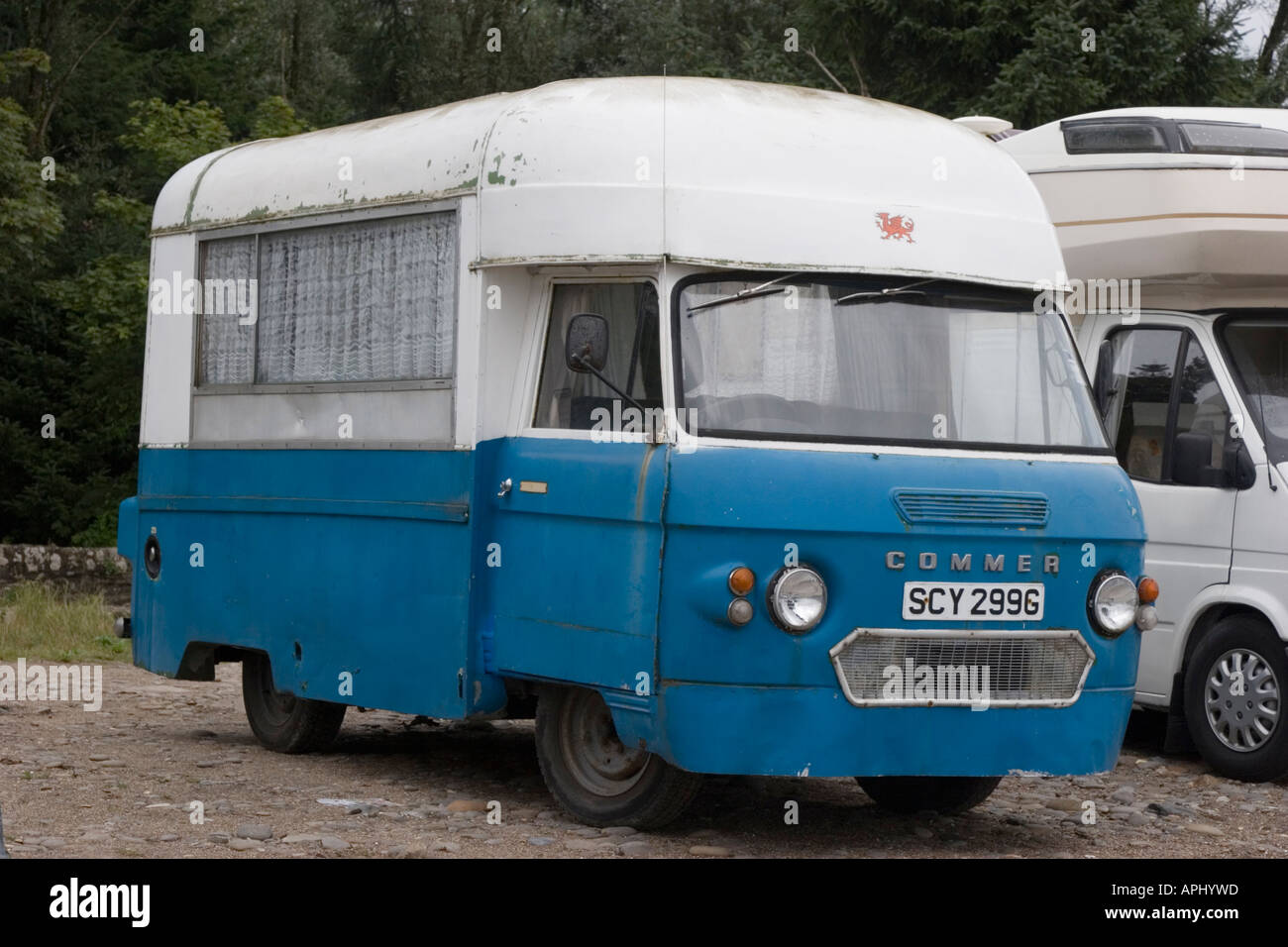 Old Commer Camper Van