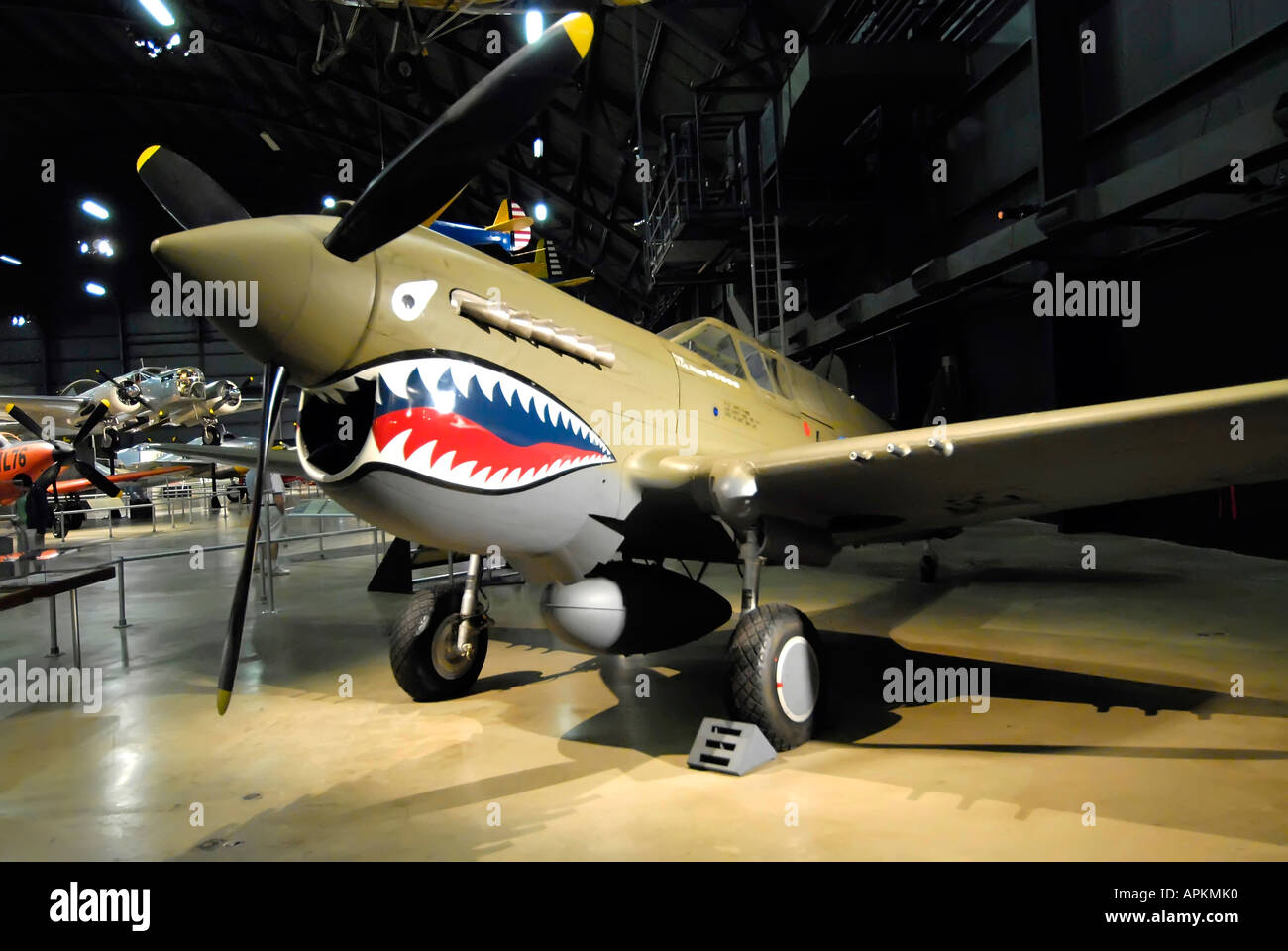 US United States Air Force Museum At Dayton Ohio OH Stock Photo - Air force museums in us