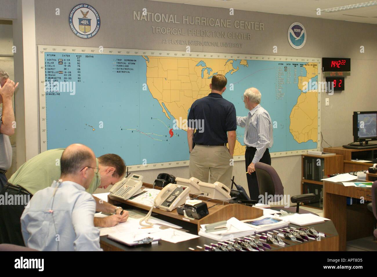 International hurricane center