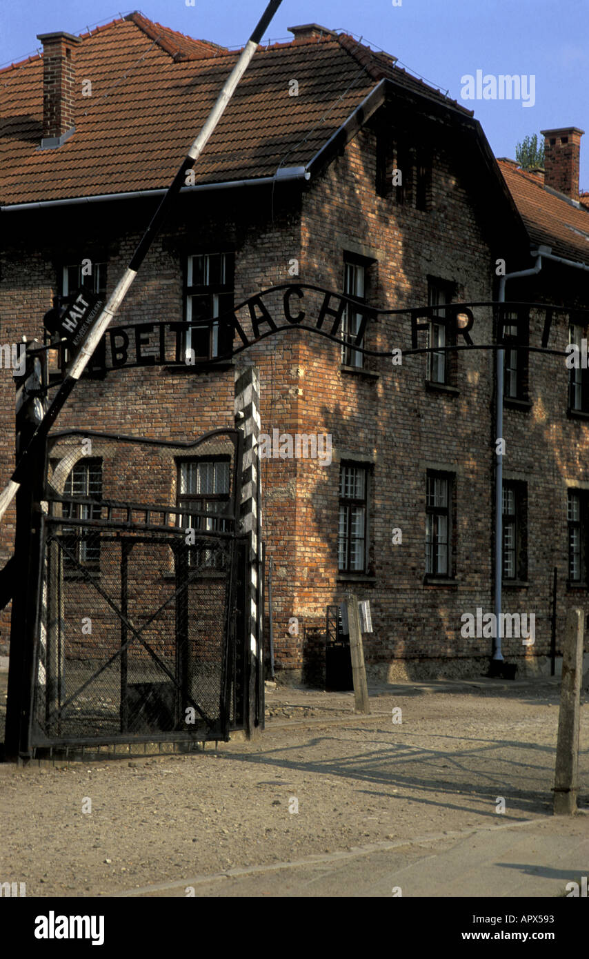 Auschwitz Concentration Camp Now State Stock Photos  Auschwitz - Concentration camp museums in usa