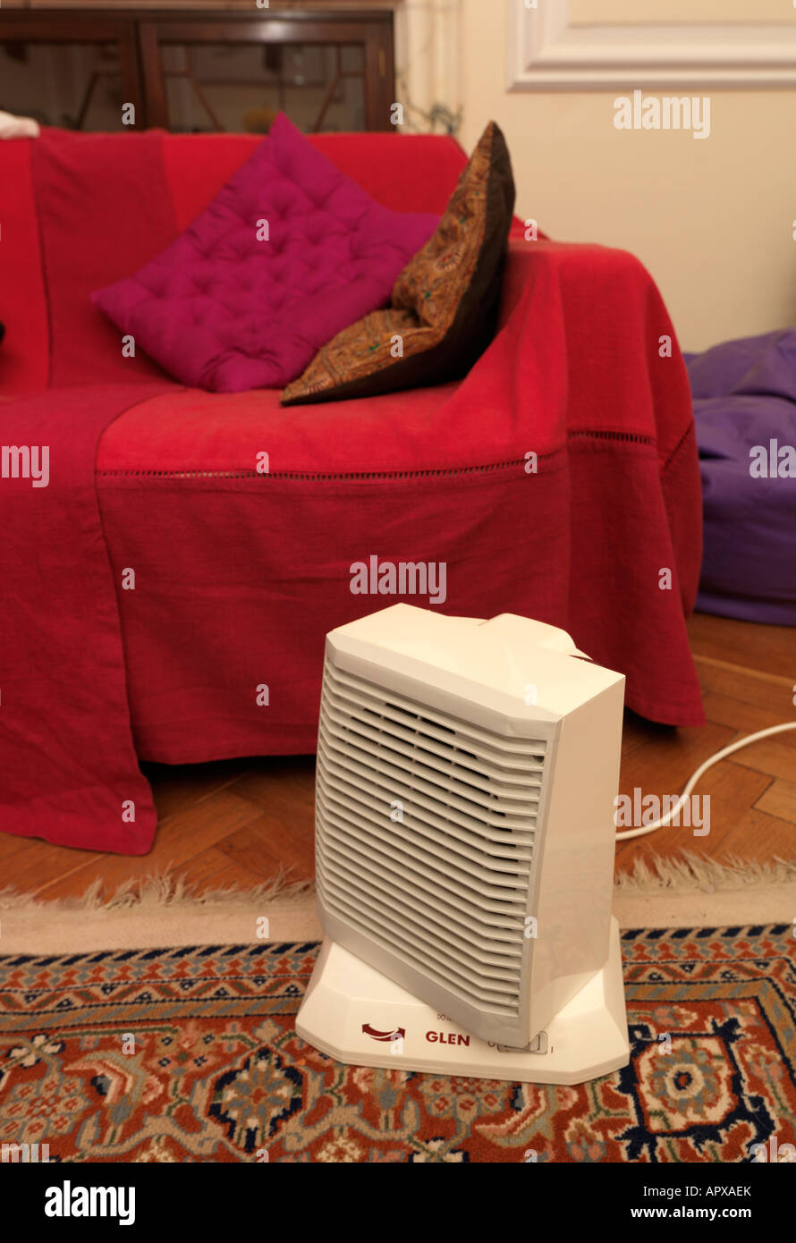 Space Heater In Living Room