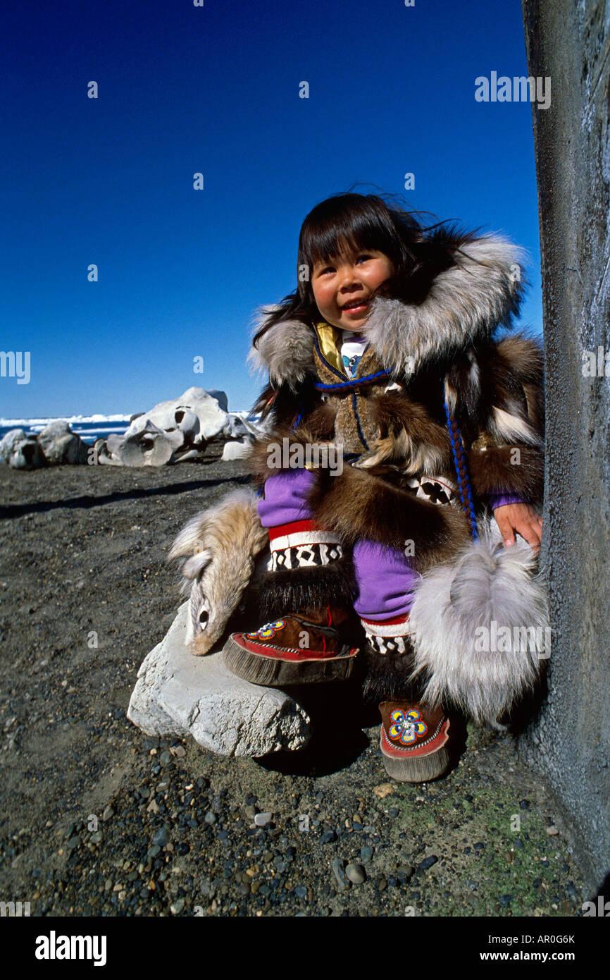Eskimo Girl Stock Photos &amp- Eskimo Girl Stock Images - Alamy