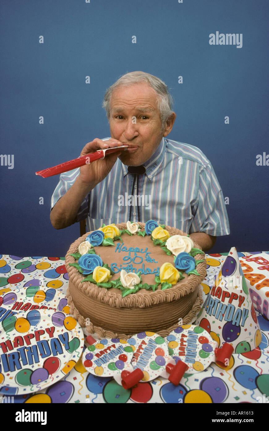 Birthday Cake 90 Year Old Stock Photos Birthday Cake 90 Year Old