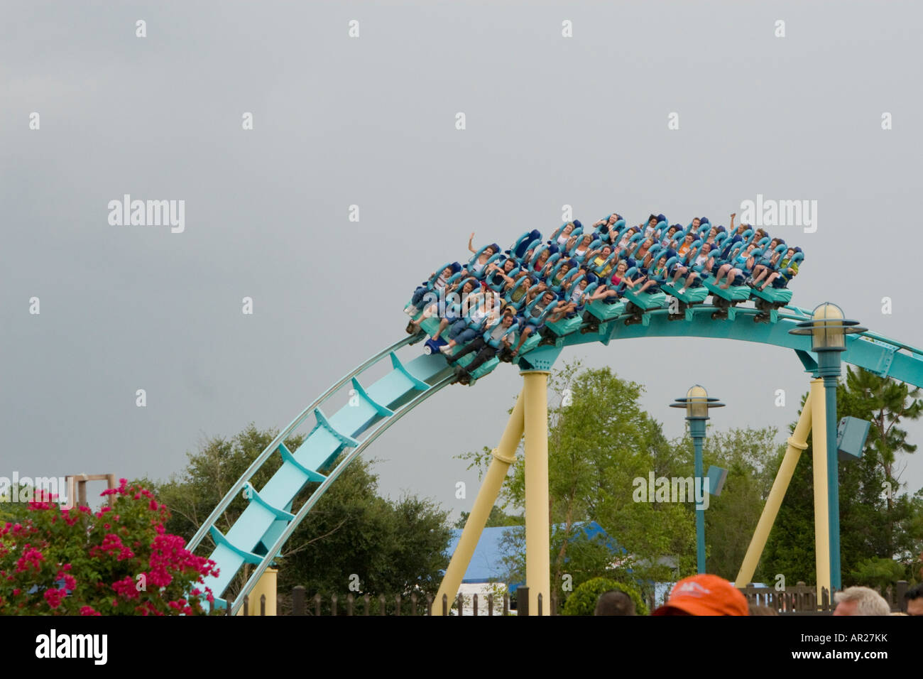 Kraken roller coaster at busch gardens seaworld orlando How far is busch gardens from orlando